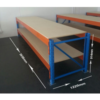 WORK BENCH 3648mm X 914mm X 1200mm With Particle Board