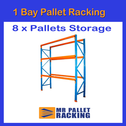 1 BAYS - 8 Pallets Space 4867mm High