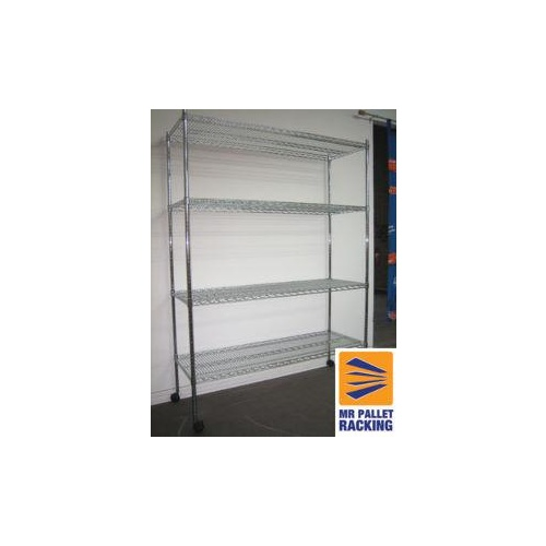 Retail Shelving -  Chrome Wire Shelving